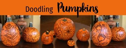 Doodling Pumpkins